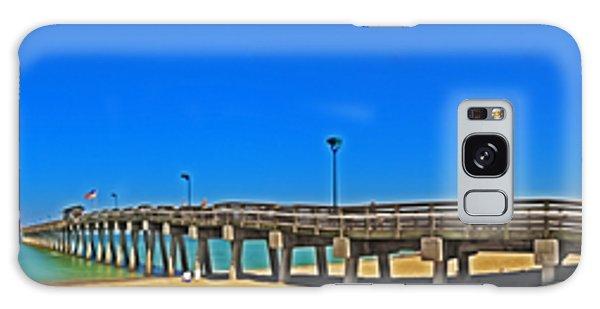 6x1 Venice Florida Beach Pier Galaxy Case