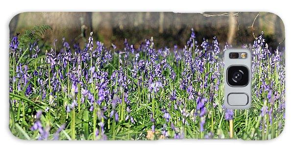 Bluebells At Banstead Wood Surrey Uk Galaxy Case