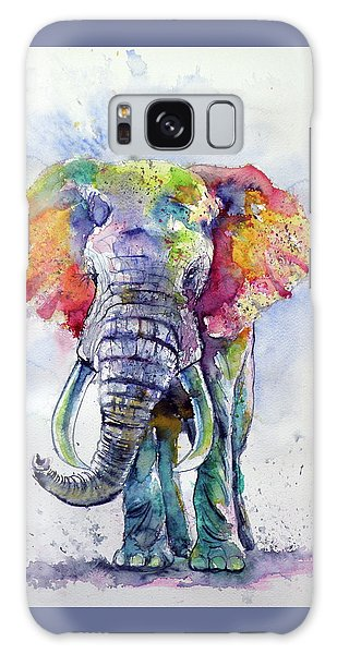 Colorful Elephant Galaxy Case