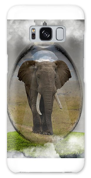 Elephant Art Galaxy Case