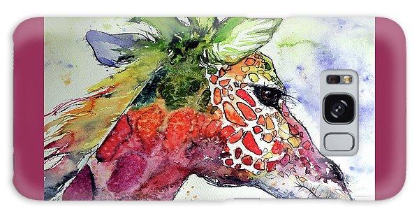 Giraffe  Galaxy Case by Kovacs Anna Brigitta