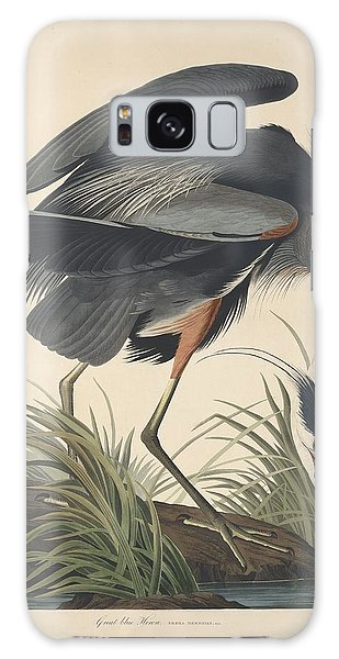Ibis Galaxy S8 Case - Great Blue Heron by Dreyer Wildlife Print Collections