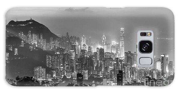 Hong Kong Skyline Galaxy Case