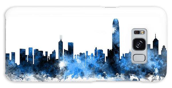 Hong Kong Galaxy S8 Case - Hong Kong Skyline by Michael Tompsett