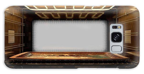 Shelves Galaxy Case - Inside The Oven by Allan Swart