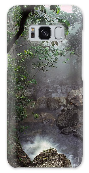 Misty Rainforest El Yunque Galaxy Case