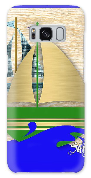Sailing Collection Galaxy Case by Marvin Blaine