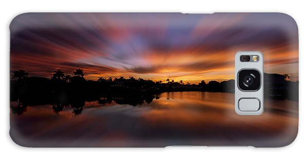 Sunrise At Naples, Florida Galaxy Case by Peter Lakomy