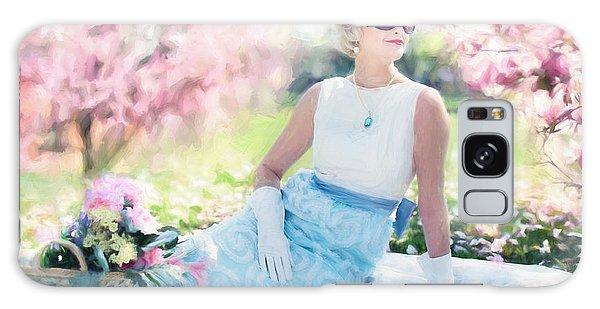Vintage Val Magnolias Galaxy Case
