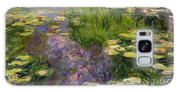 Lily Galaxy Case - Waterlilies by Claude Monet