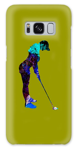 Womens Golf Collection Galaxy Case by Marvin Blaine