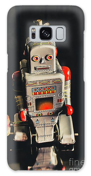 1950s Galaxy Case - 70s Mechanical Android Bot  by Jorgo Photography - Wall Art Gallery