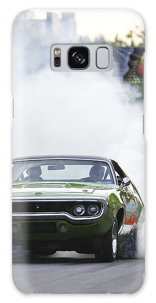 '72 Roadrunner Burn Out Galaxy Case