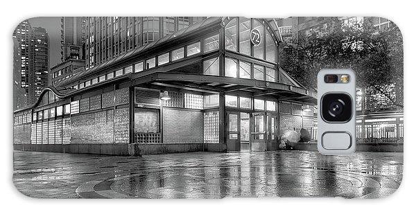 72nd Street Subway Station Bw Galaxy Case