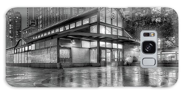 72nd Street Subway Station Bw Galaxy Case by Jerry Fornarotto