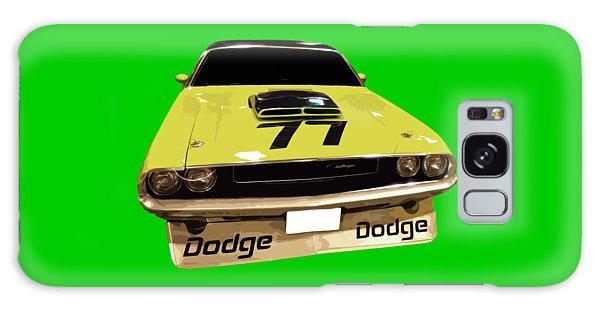 77 Yellow Dodge Galaxy Case