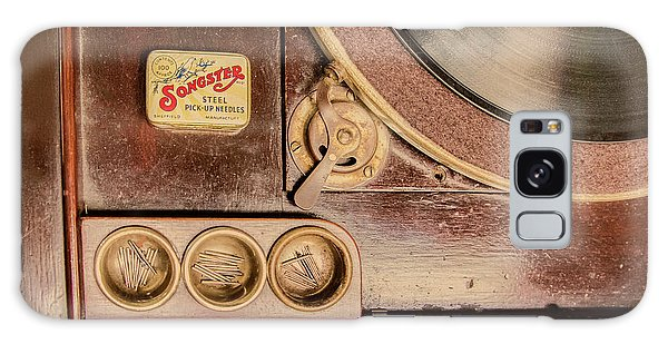 Galaxy Case featuring the photograph 78 Rpm And Accessories by Gary Slawsky