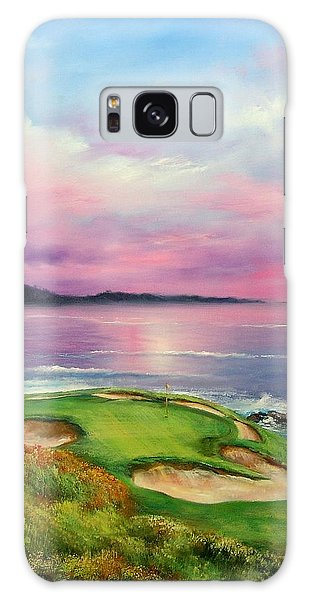 Monterey Galaxy Case - 7th At Pebble by Sally Seago
