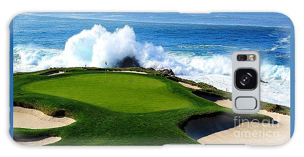 7th Hole - Pebble Beach  Galaxy Case