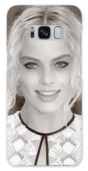 Actress Margot Robbie Galaxy Case
