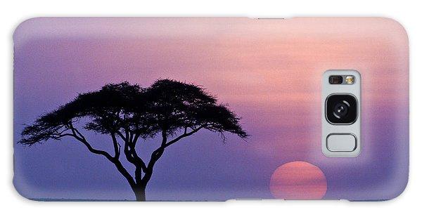 African Sunrise Galaxy Case