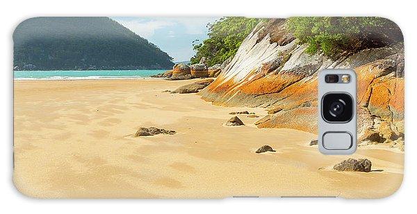 Wilsons Promontory Galaxy Case - Australian Beach by Tim Hester