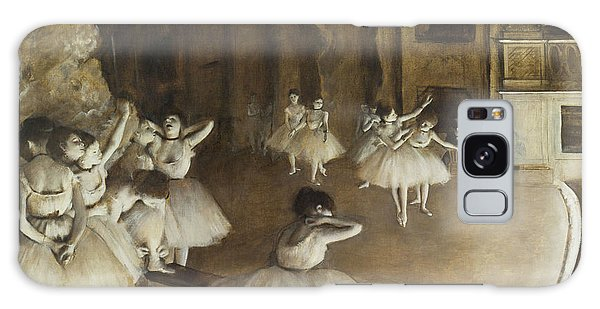 Ballet Rehearsal On Stage Galaxy Case