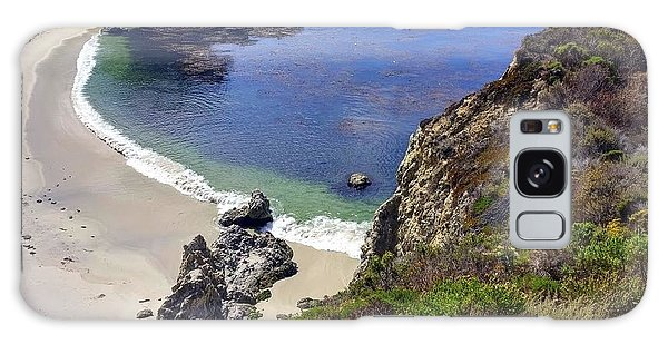Point Lobos Beach Galaxy Case