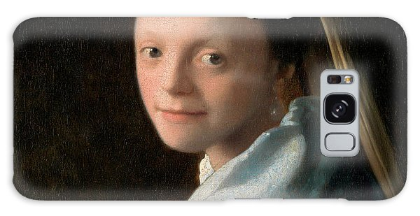 Girl With A Pearl Earring Galaxy Case - Study Of A Young Woman by Johannes Vermeer