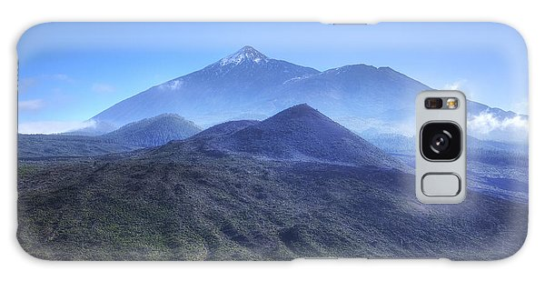 Tenerife - Mount Teide Galaxy Case