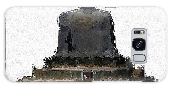 Anubis Galaxy Case - The Buddha, Pop Art By Mary Bassett by Mary Bassett
