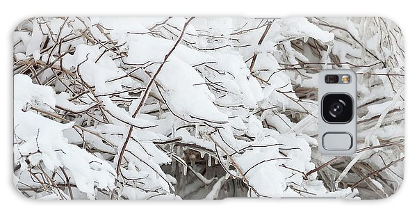 Galaxy Case featuring the photograph Winter Scene - Abstract by Shankar Adiseshan