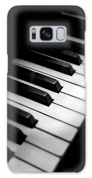 88 Keys To The Heart Galaxy Case by Aaron Berg