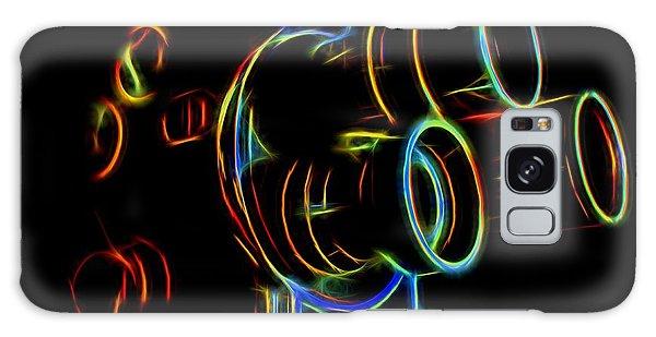 8mm In Neon Galaxy Case by Mark Miller