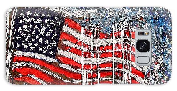 9/11 Tribute Galaxy Case by J R Seymour