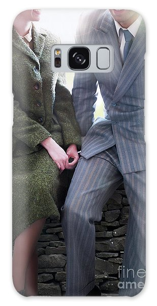 1940s Couple Galaxy Case by Lee Avison