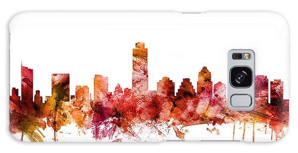 Austin Galaxy S8 Case - Austin Texas Skyline by Michael Tompsett