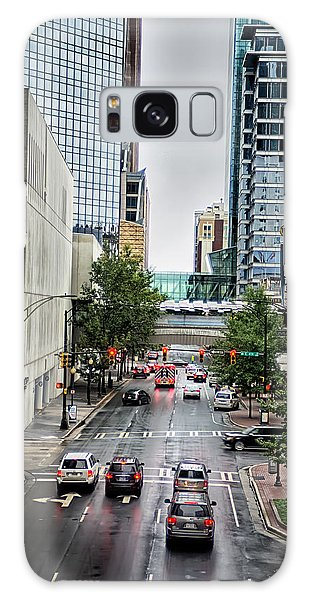 Charlotte North Carolina Views Around  Downtown Galaxy Case