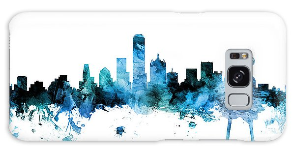 Dallas Galaxy Case - Dallas Texas Skyline by Michael Tompsett