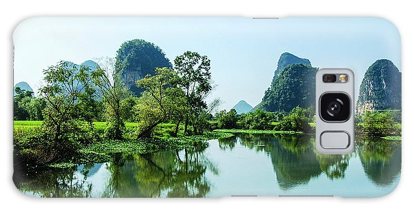 Karst Rural Scenery Galaxy Case