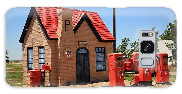 Route 66 - Phillips 66 Gas Station Galaxy Case