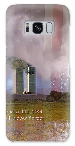 911 We Will Never Forget Galaxy Case