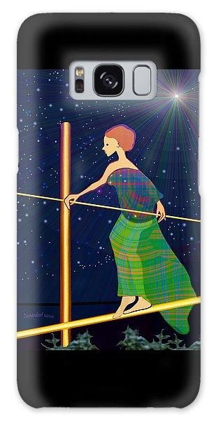 958  -   Balance   Galaxy Case by Irmgard Schoendorf Welch