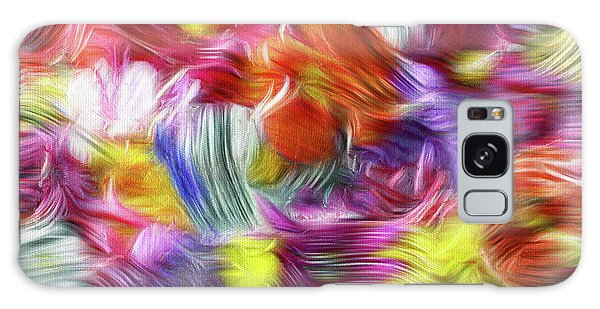 9a Abstract Expressionism Digital Painting Galaxy Case