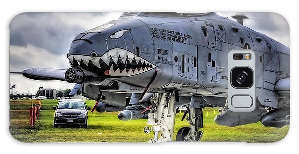 A-10 Thunderbolt  Galaxy Case by Michael White
