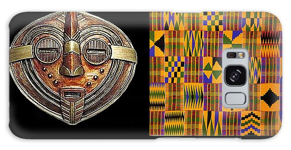 A  African Proverb Galaxy Case by Jacqueline Lloyd