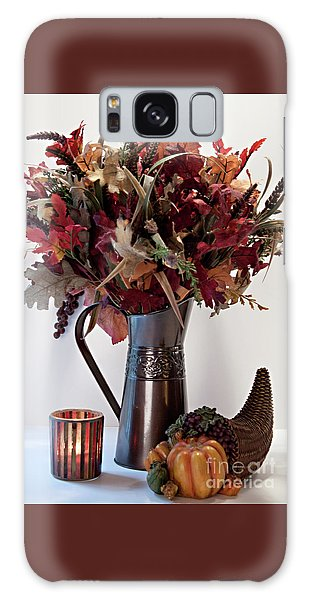 A Autumn Day Galaxy Case by Sherry Hallemeier