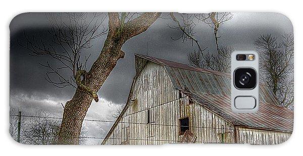 A Barn In The Storm 2 Galaxy Case by Karen McKenzie McAdoo