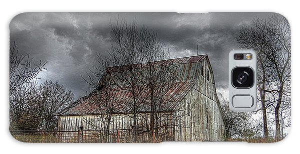 A Barn In The Storm 3 Galaxy Case
