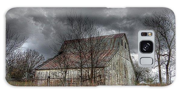 A Barn In The Storm 3 Galaxy Case by Karen McKenzie McAdoo